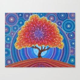 Autumn Blossoms Canvas Print
