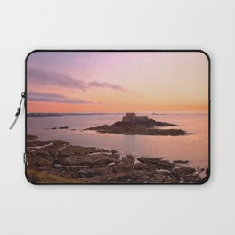 Saint-Malo Twilight Coast Laptop Sleeve