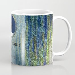 Wisdom of Silence Moose Spirit Art Coffee Mug