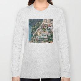 Italy. Amalfi Coastline Long Sleeve T-shirt