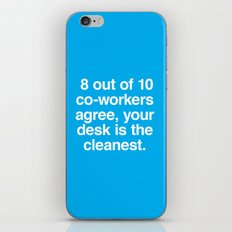 Cleanest Desk iPhone & iPod Skin