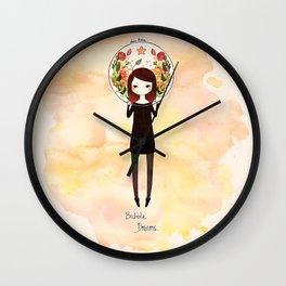 [Pikmin] - Bubble Dreams Wall Clock