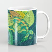 chameleon Mugs featuring Chameleon by Arcturus