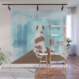 Deschutes The Brittany Spaniel Wall Mural