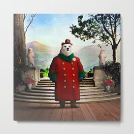 Ambassador Ulysses Ursa in the Embassy Gardens Metal Print