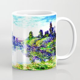 Claude Monet - Morning on the Seine, near Vetheuil 1878 Coffee Mug