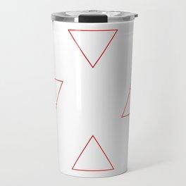 Elements (red) Travel Mug