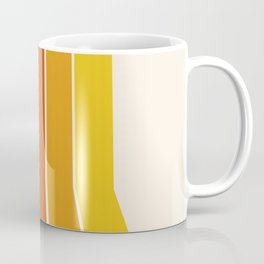 Rad - retro throwback 70s 1970s stripe beach 70's vibes minimal art Coffee Mug