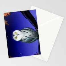 At night_1 Stationery Cards