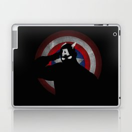 SuperHeroes Shadows : Captain America Laptop & iPad Skin