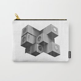 Architecture futur grey Carry-All Pouch