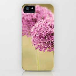 Alliums iPhone Case