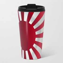 Japanese Rising Sun Flag Travel Mug