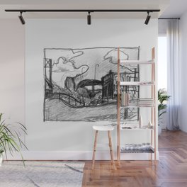 Urban Delights Wall Mural