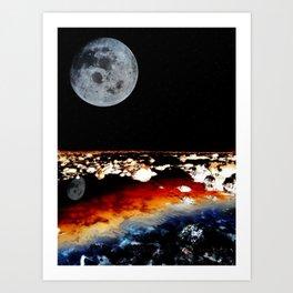 beautiful mars Art Print