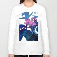 sagittarius Long Sleeve T-shirts featuring SAGITTARIUS by Chandelina