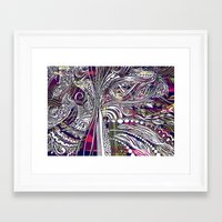 champagne Framed Art Prints featuring Champagne by Dan Ellwood