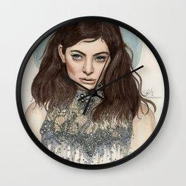 Lorde @ the Oscars Wall Clock