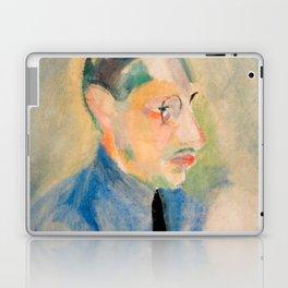 Igor Stravinsky (1882 – 1971) by Robert Delaunay in 1918 Laptop & iPad Skin