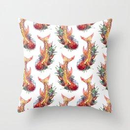 Fish Splash Throw Pillow