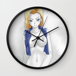 DBZ - Android 18 Wall Clock