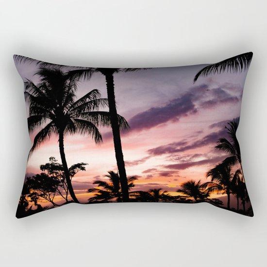 tropical memories Rectangular Pillow