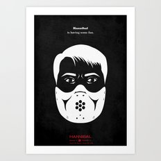 Hannibal - And the Beast from the Sea Art Print