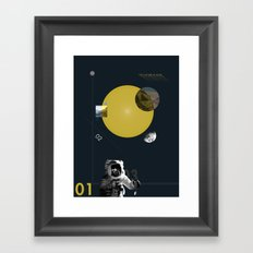 The Future is Now Framed Art Print
