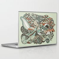 peanuts Laptop & iPad Skins featuring Peanuts i wanted to be octopus by Tuky Waingan