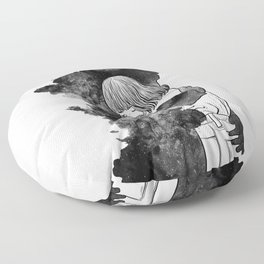 It would takes a life time to get over. Floor Pillow