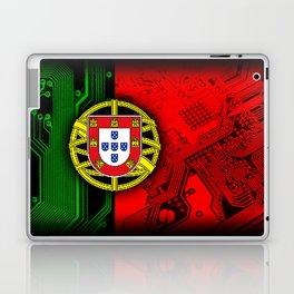 circuit board Portugal (Flag) Laptop & iPad Skin
