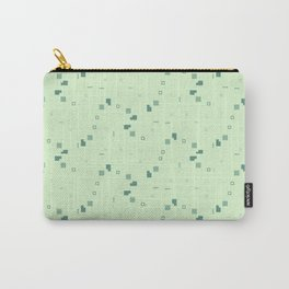 Simple Geometric Pattern 3 grl Carry-All Pouch