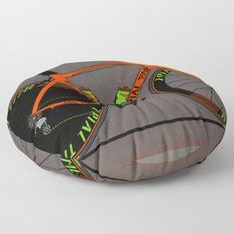 Time Trial Bike Floor Pillow