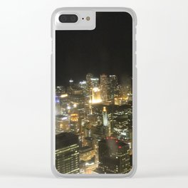 chicago  skyline 1 Clear iPhone Case
