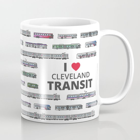 The Transit of Greater Cleveland Coffee Mug