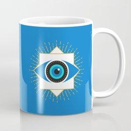 The Evil Eye Blue Coffee Mug