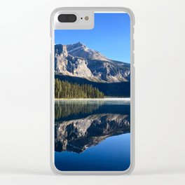 Morning Reflections Clear iPhone Case