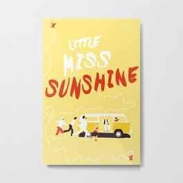THE ROAD TO MISS  SUNSHINE Metal Print