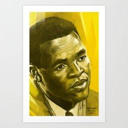 Ernest Ouandie Art Print