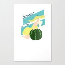Summer Sweeties: Watermelons  Canvas Print