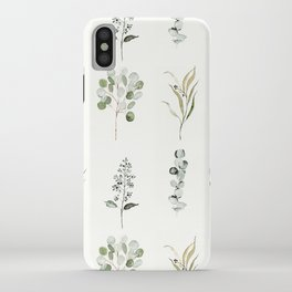 Eucalyptus Branches iPhone Case
