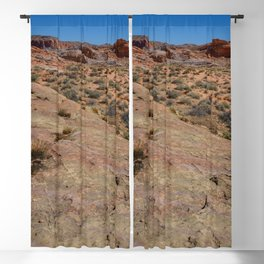 Coat-of-Many-Colors 7510 - Valley of Fire State Park, Nevada Blackout Curtain