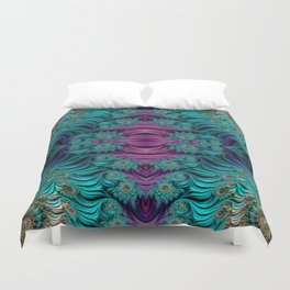 Aqua Swirl 2 Duvet Cover
