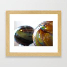 Roll in colours Framed Art Print