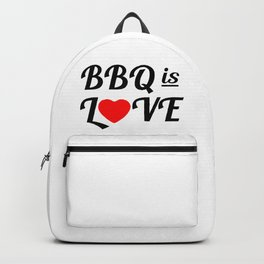 Bbq is Love Backpack