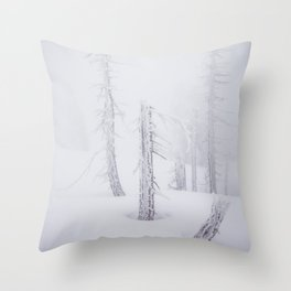 Another World - Landscape and Nature Photography Throw Pillow