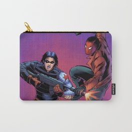 Winter Soldier vs. Red Hood Carry-All Pouch