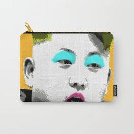 Marilyn Jong Un - Yellow Carry-All Pouch