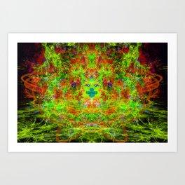 Fire Breather (Acid Breath) Art Print