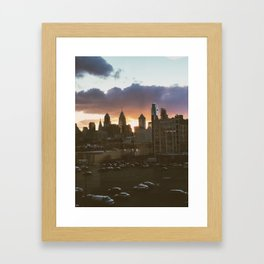 philly #views Framed Art Print